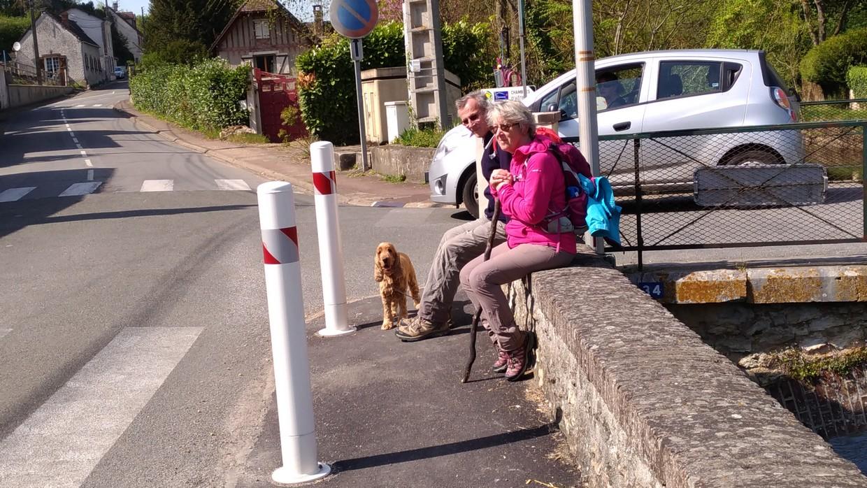 Françoise et Alain, à Charpont