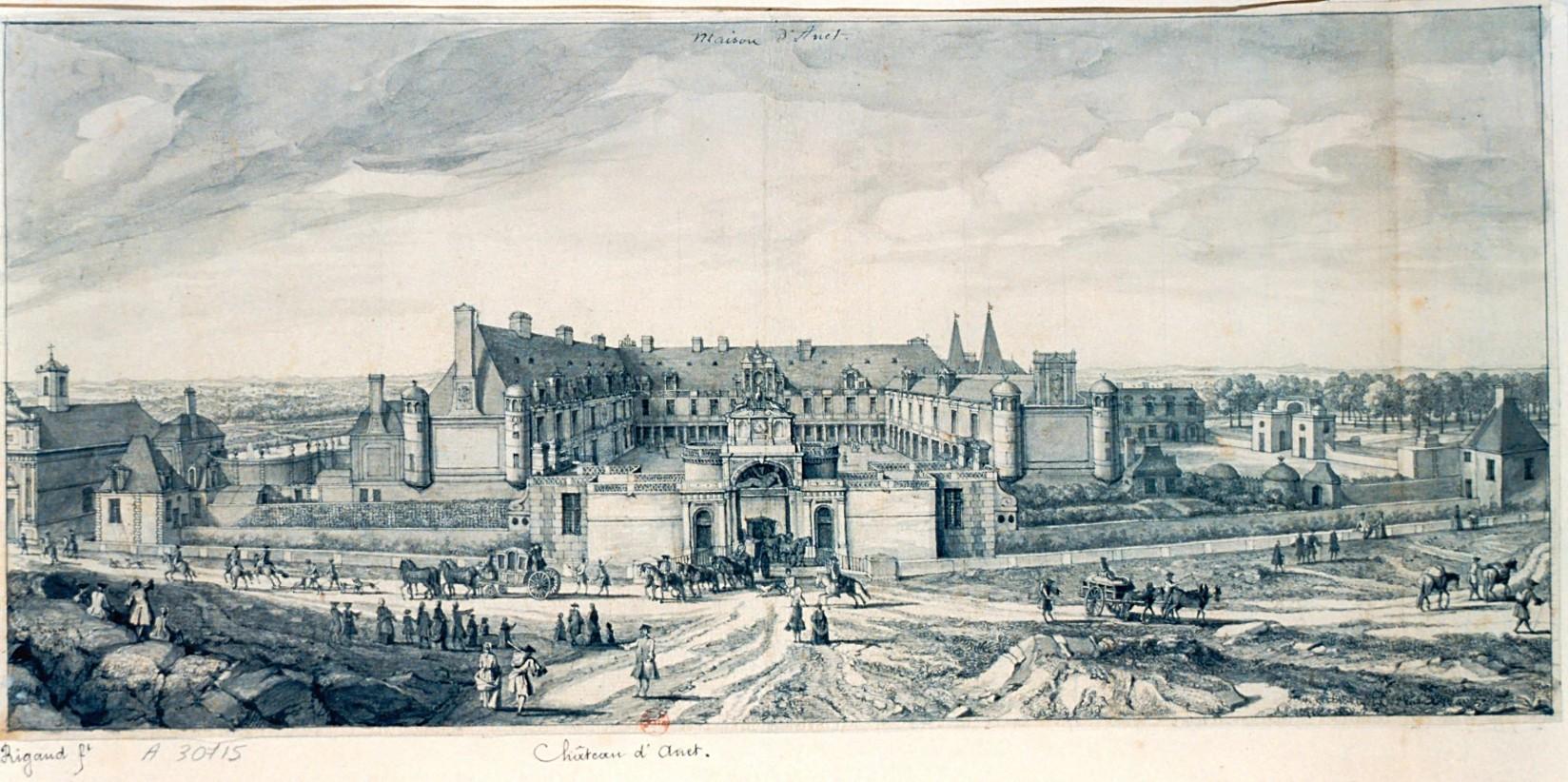 Chateau d anet 18e siecle