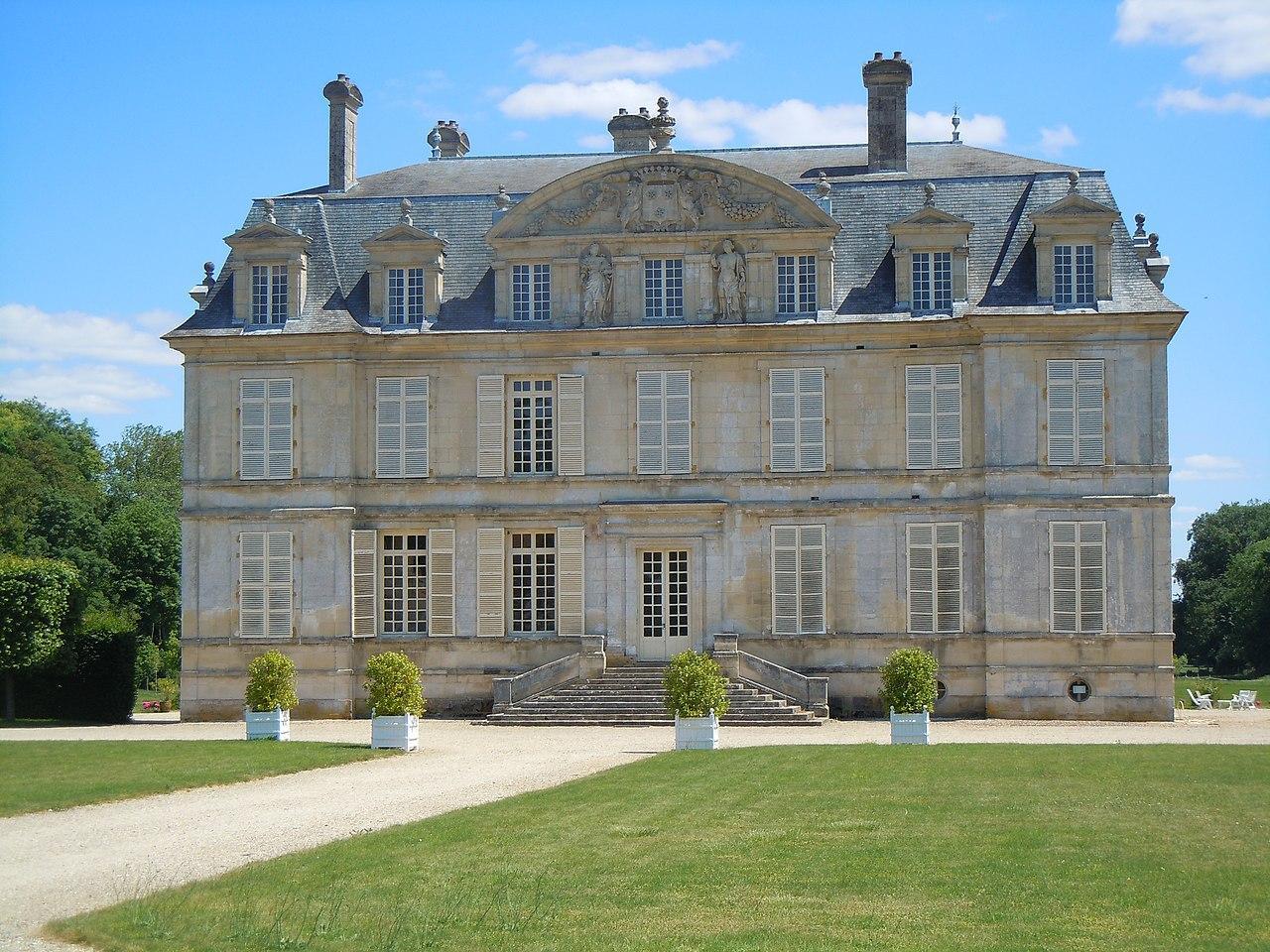 Chateau de guiry en 2020
