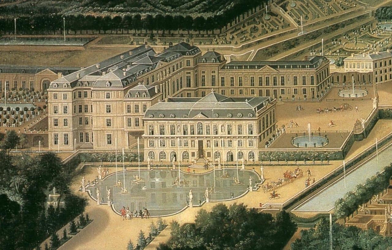 Chateau st cloud 1676
