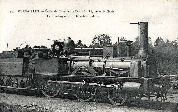 Ecole de chemin de fer 5 rg la foudroyante