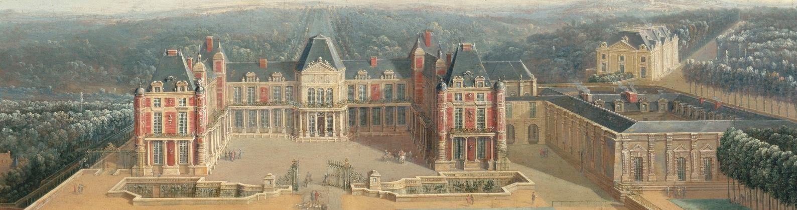 Meudon panoramique chateau 1723 pierre denis martin