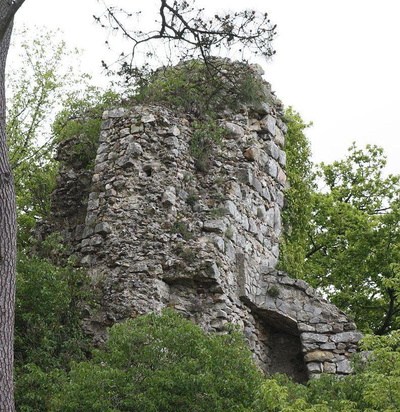 Ruines de la tour rochefort