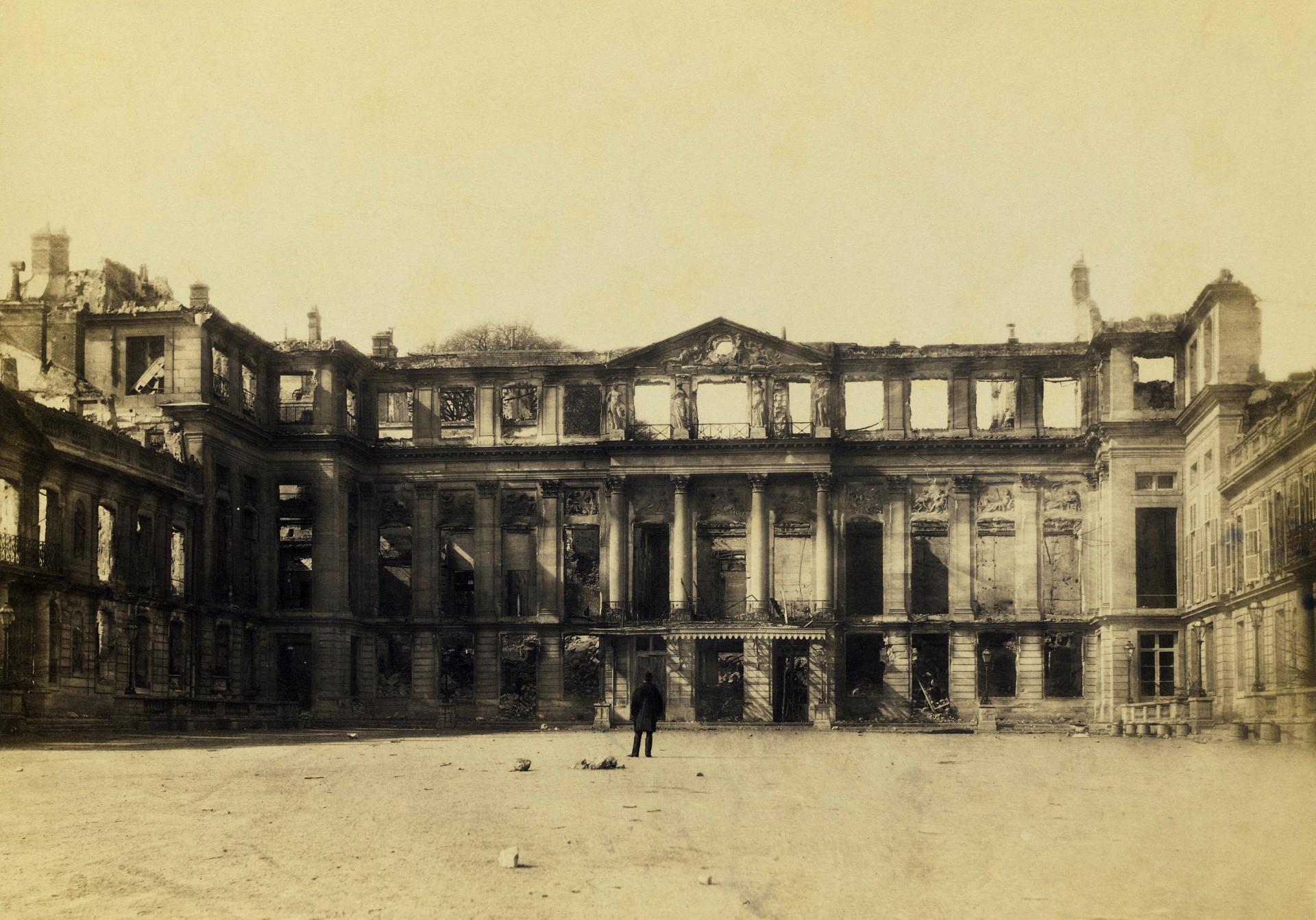 Saint cloud chateau apres 1870 2